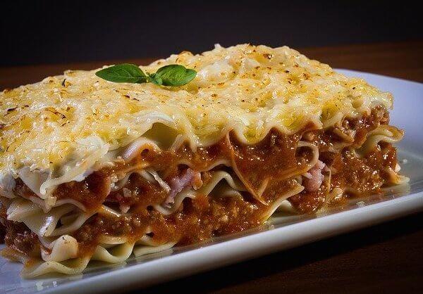 puppy lasagna