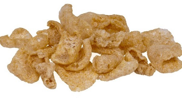 can dogs have pork rinds