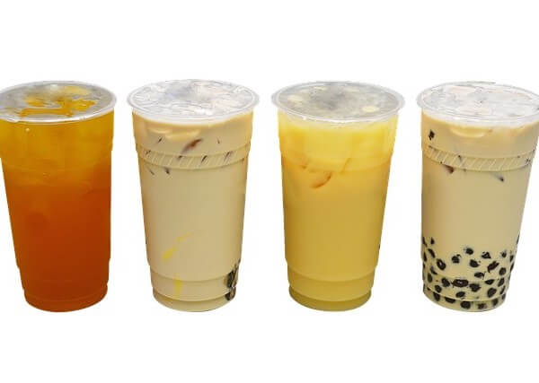 different types of boba