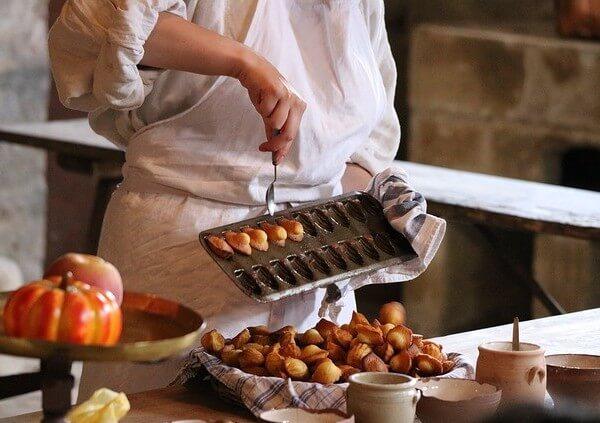 madeleines cookie pan